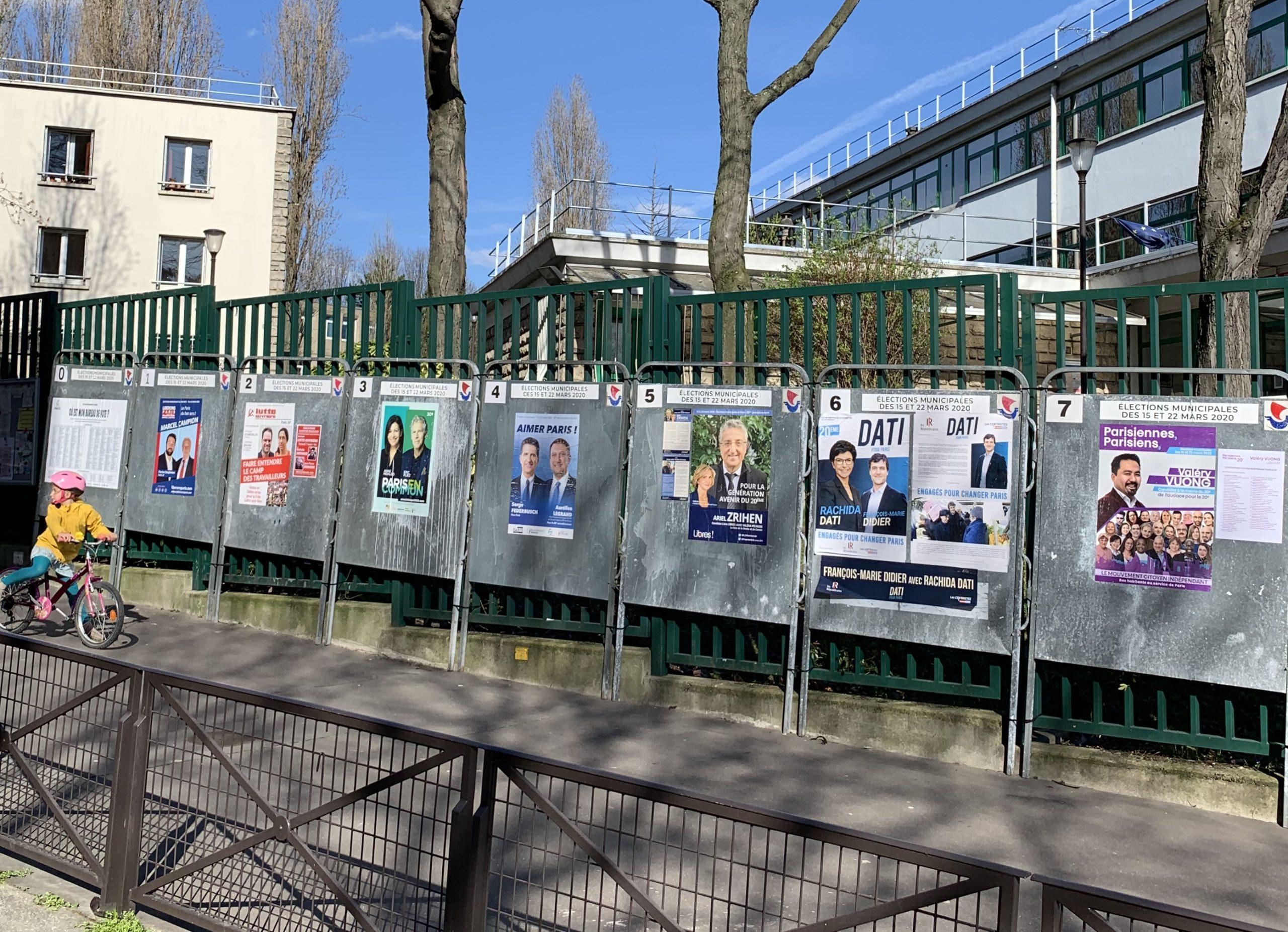 Premier tour des municipales : comment a voté le 20e arrondissement ?