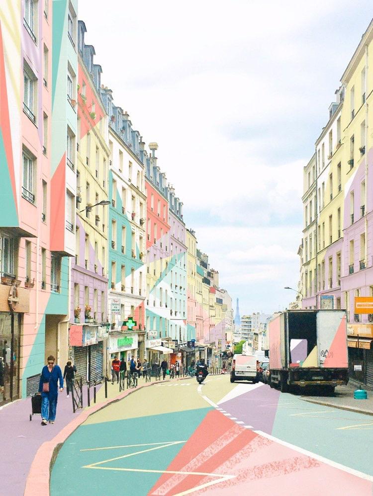 Arts graphiques : la rue de Belleville réenchantée par Jeanne Varaldi