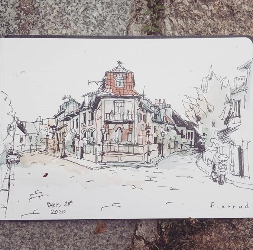Le 20e dessiné par des illustrateurs et illustratrices du quartier