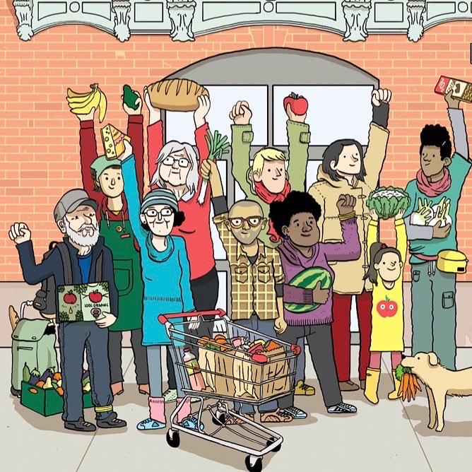 La Source : un supermarché coopératif et collaboratif, en création dans le 20e