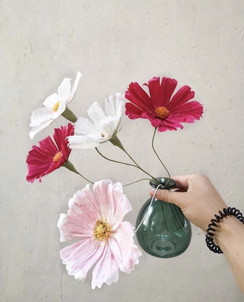 Paper flower : on opte pour des fleurs durables avec Haïlane