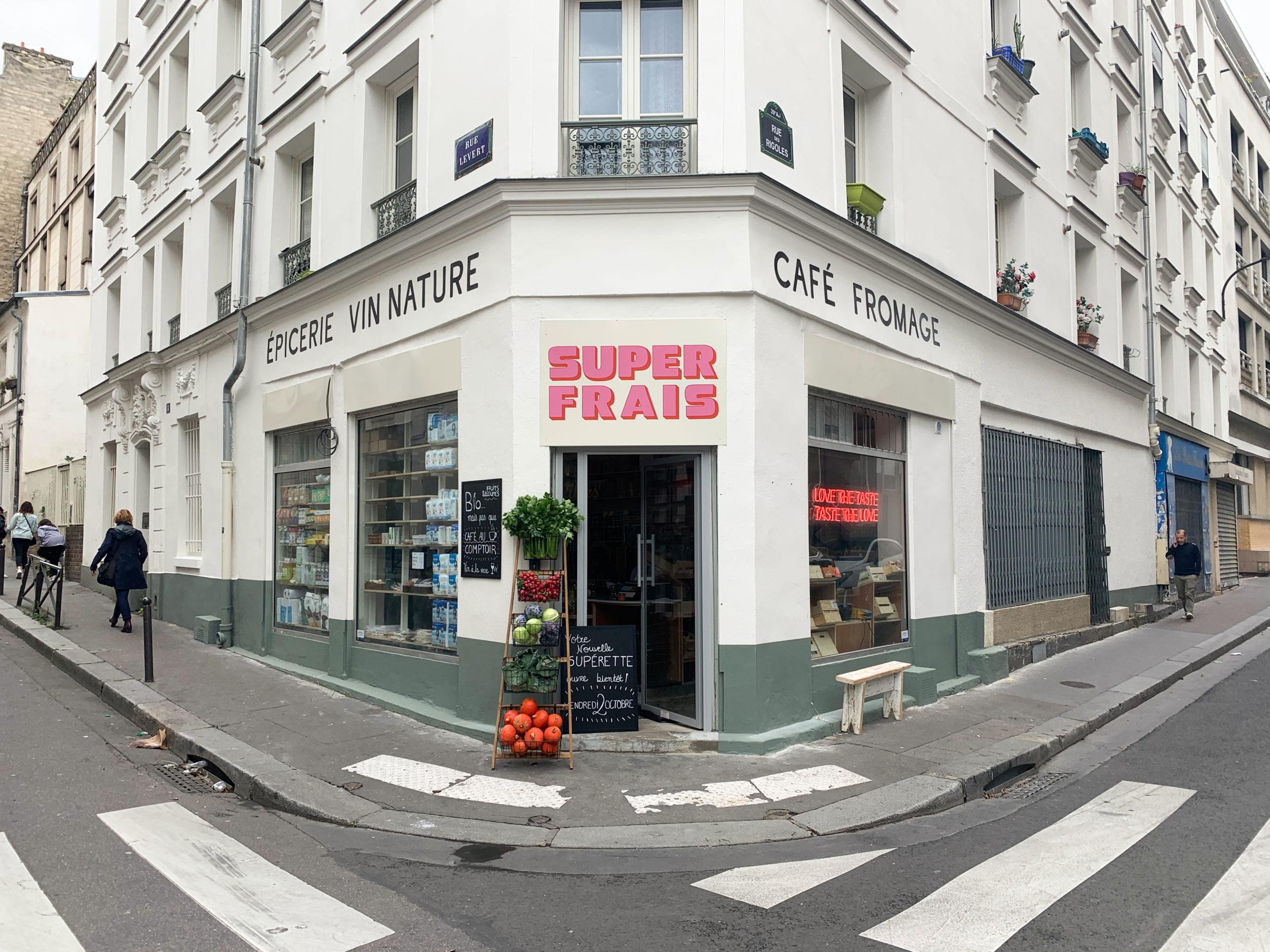 Superfrais : la nouvelle épicerie branchée du quartier Jourdain