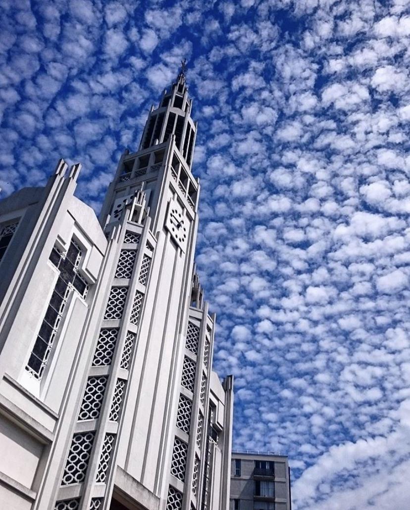 L'église Saint-Jean-Bosco, petite merveille Art Déco