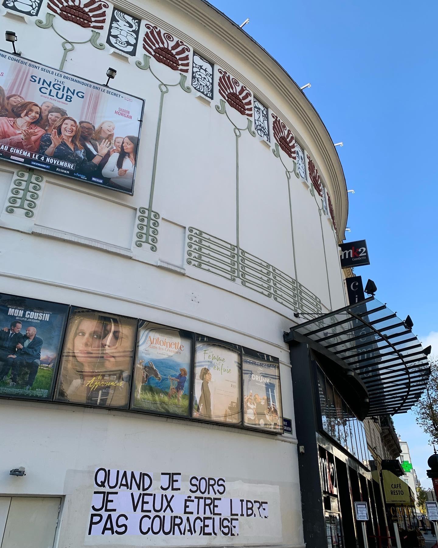"""""""Gambetta Palace"""" : la petite histoire du cinéma Mk2 Gambetta"""