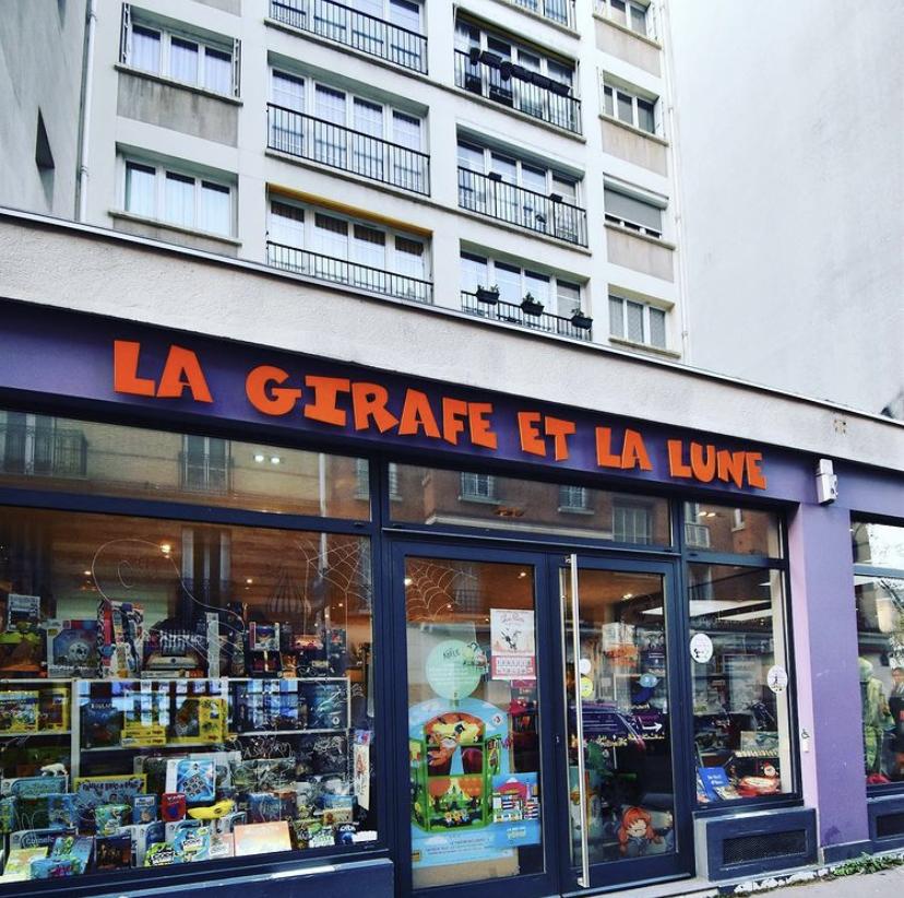"""Calendrier du confinement : """"La Girafe et La Lune"""", petit paradis des jeux pour enfants"""