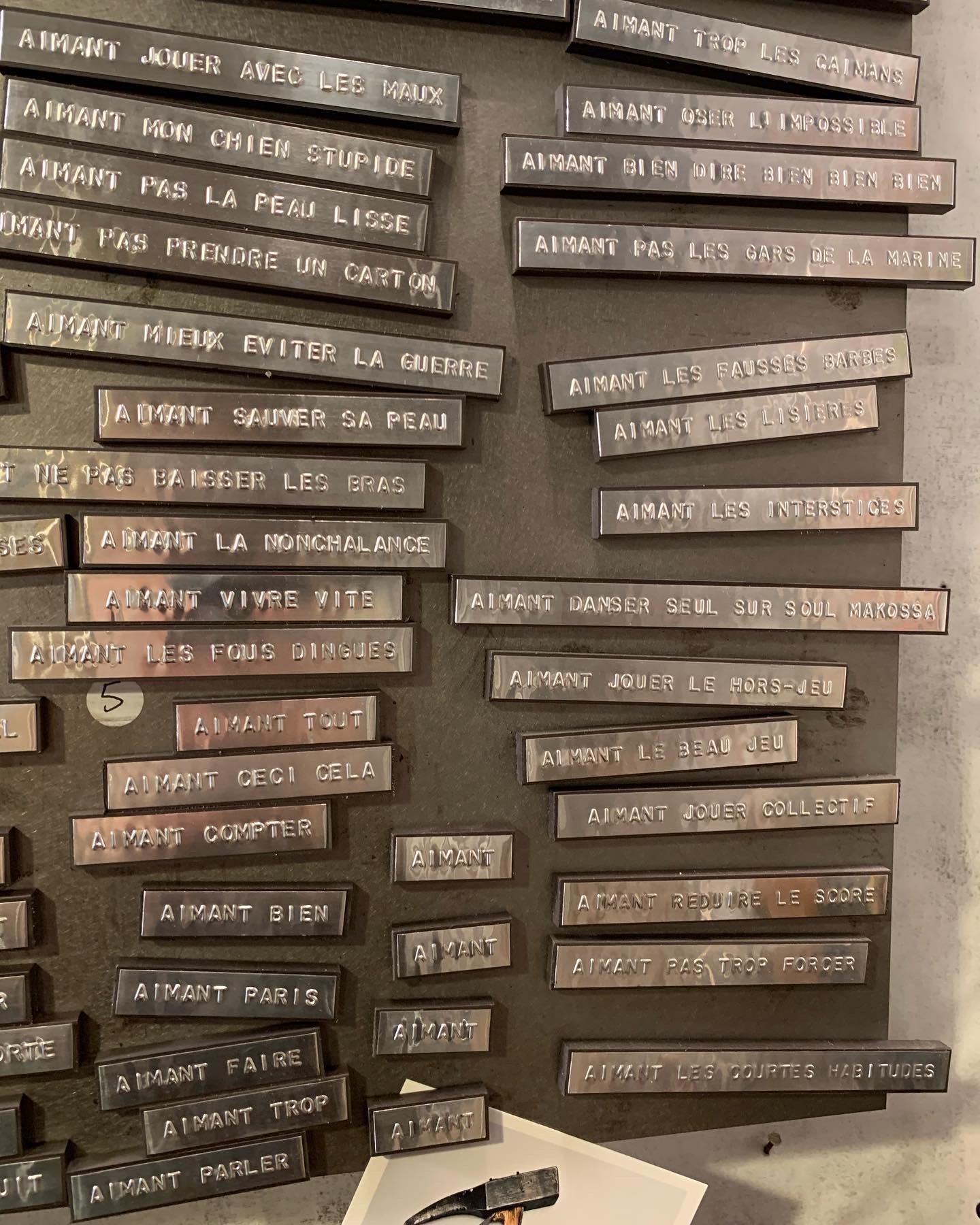"""Calendrier du confinement : """"El Flech"""",  l'atelier à l'ancienne d'un inventeur"""