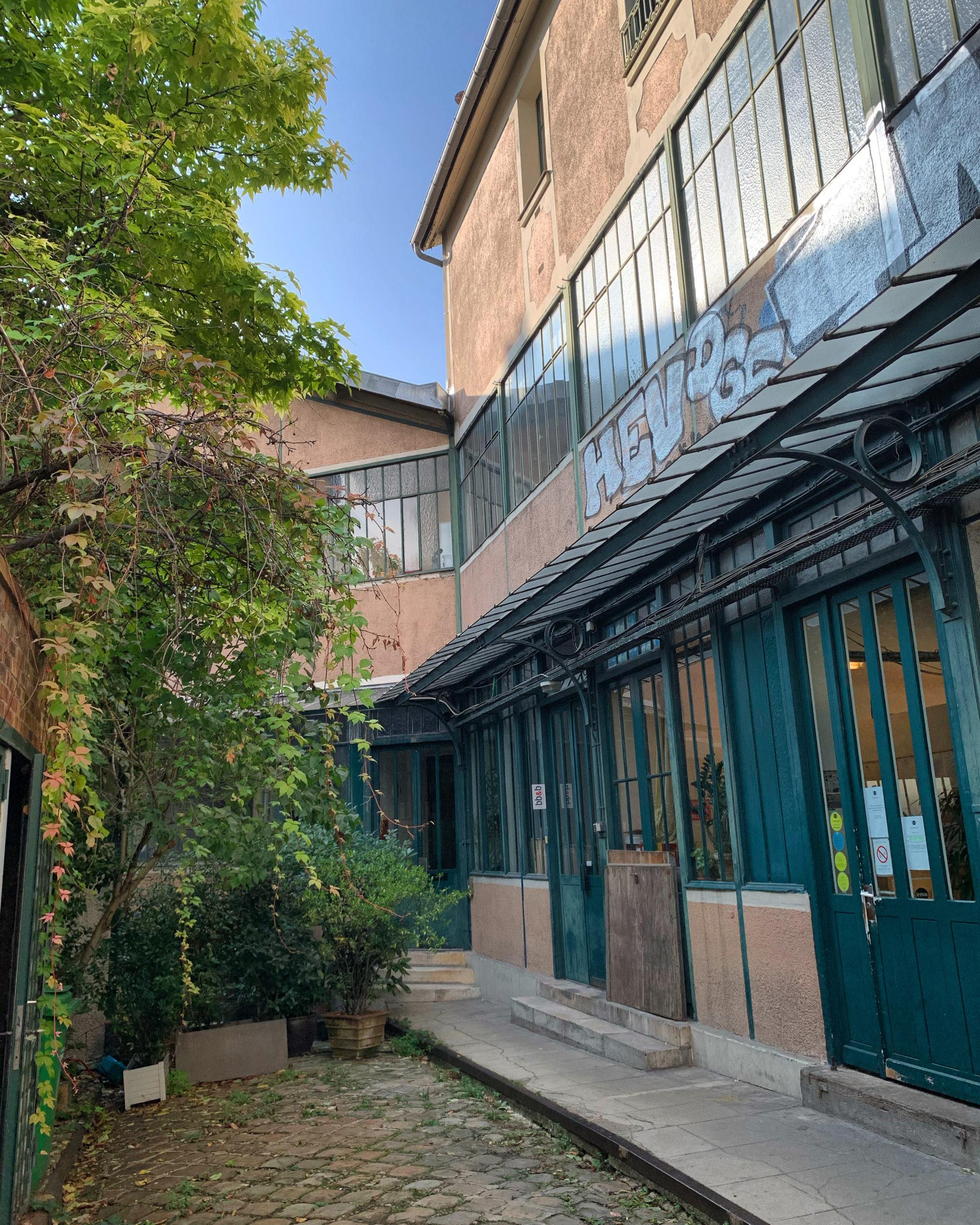 Aux Amandiers, une ancienne fabrique de cadres transformée en loft