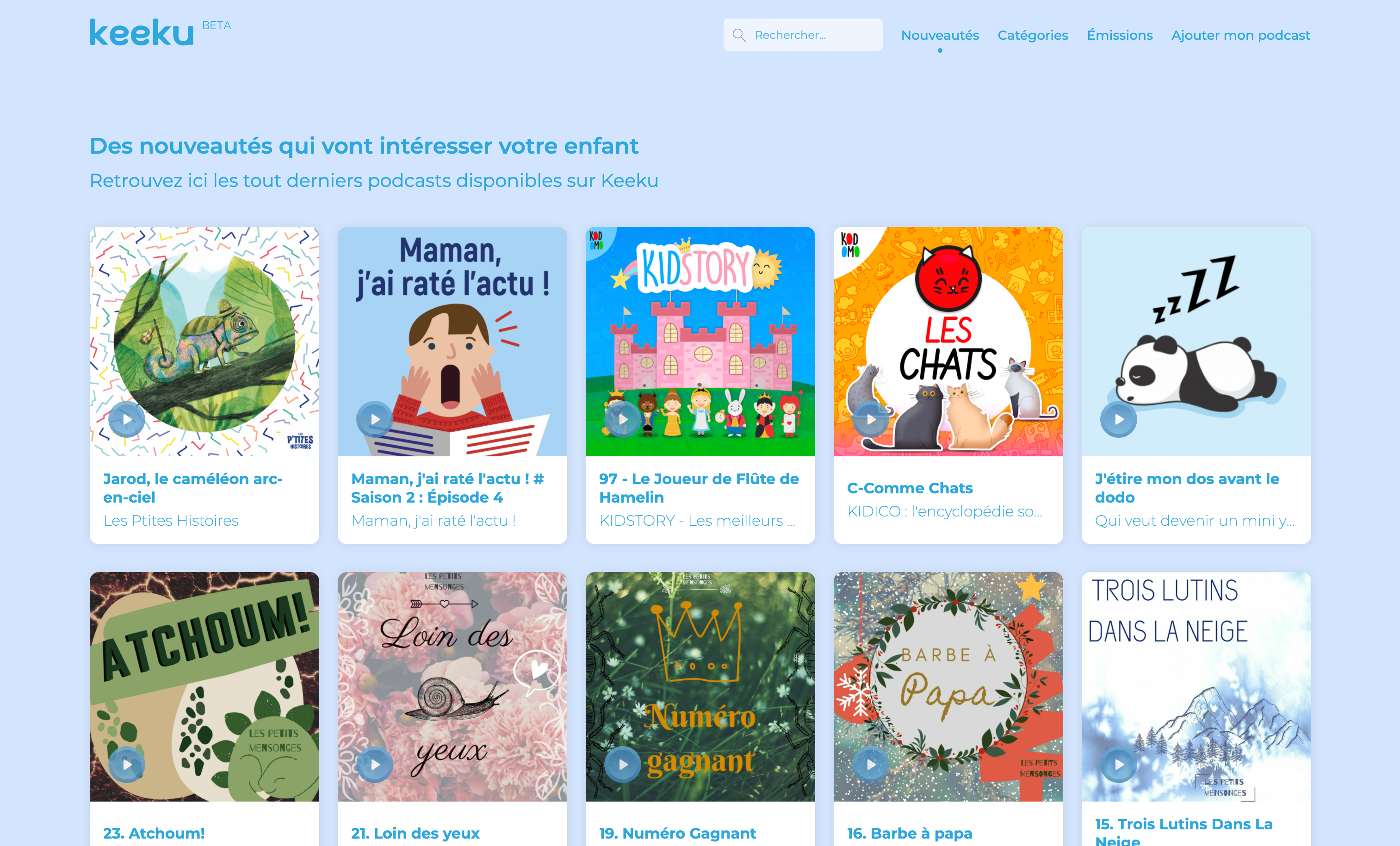 Keeku : cette start-up made in 20e recense les podcasts jeunesse