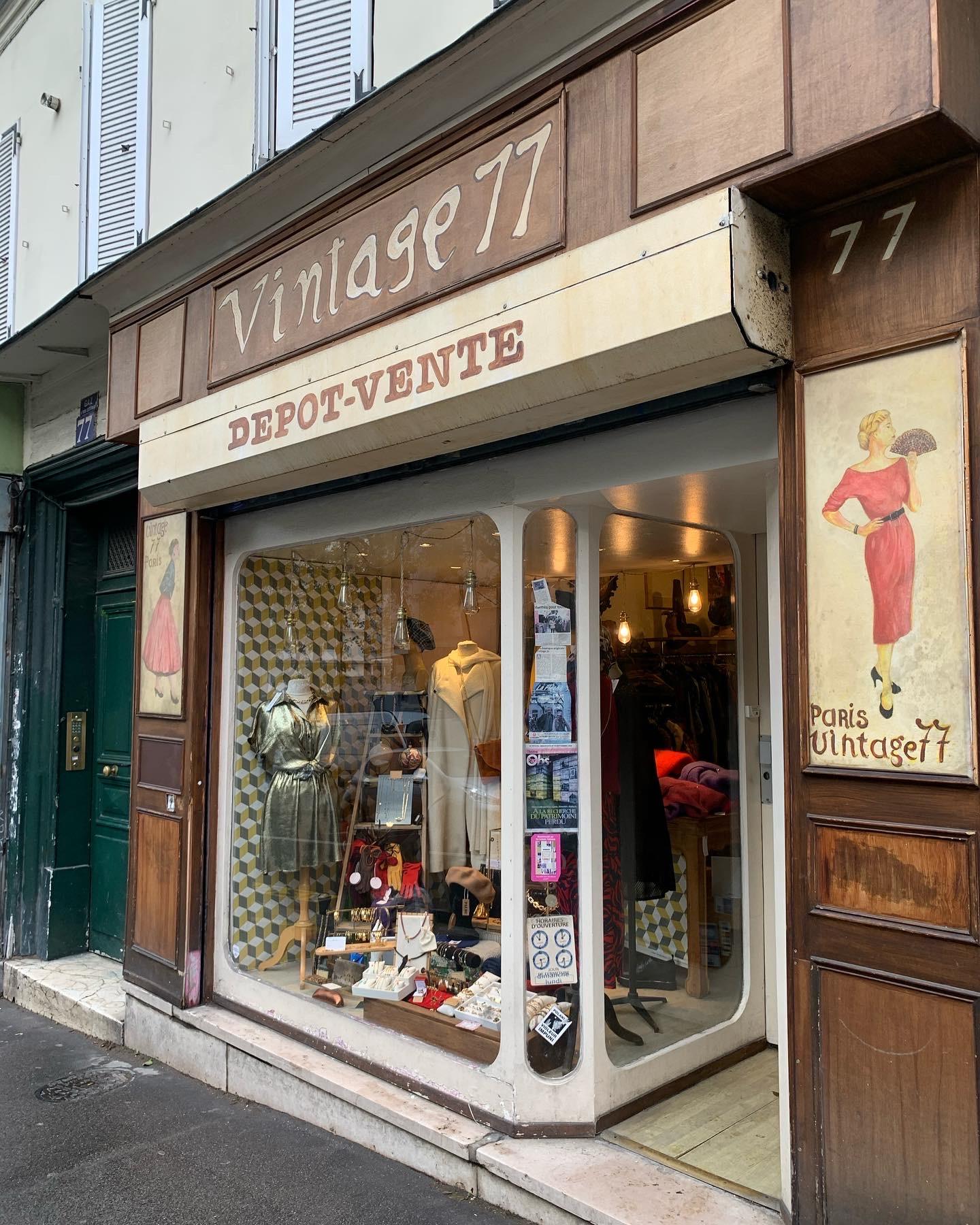 """La fripe c'est chic : bienvenue chez """"77 Vintage"""", rue de Ménilmontant"""