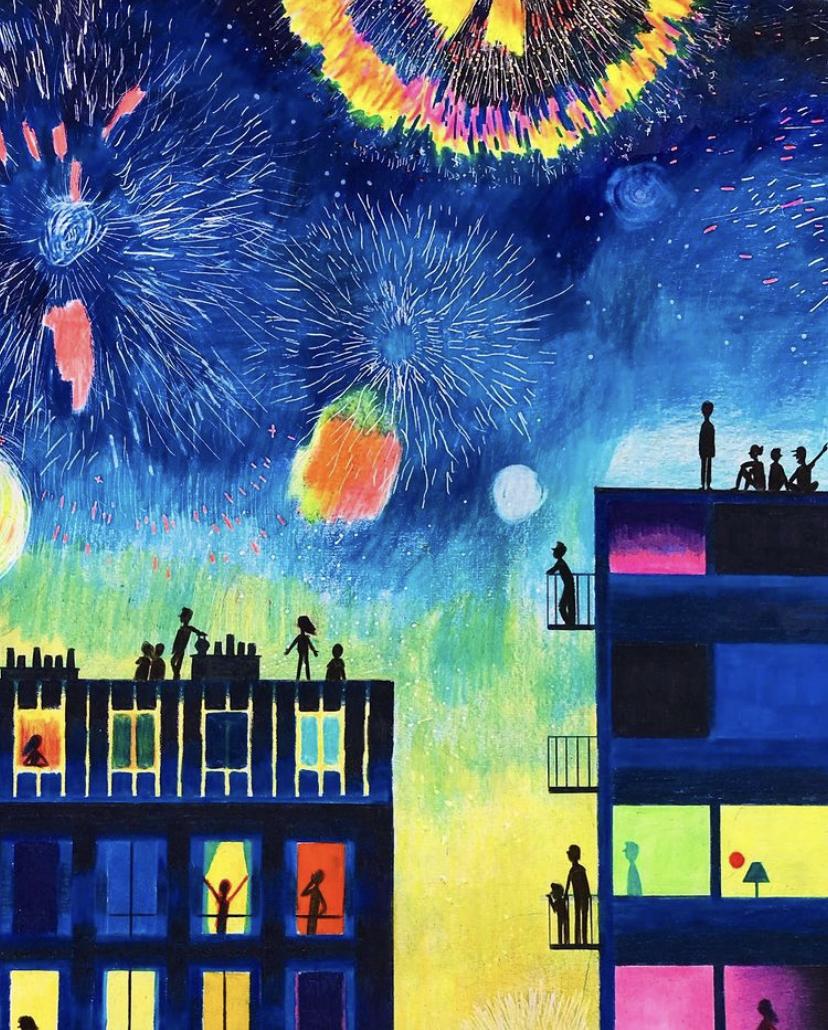Paris, la nuit : des dessins sur le 20e signés Atelier Parade (Pierre-Emmanuel Lyet)