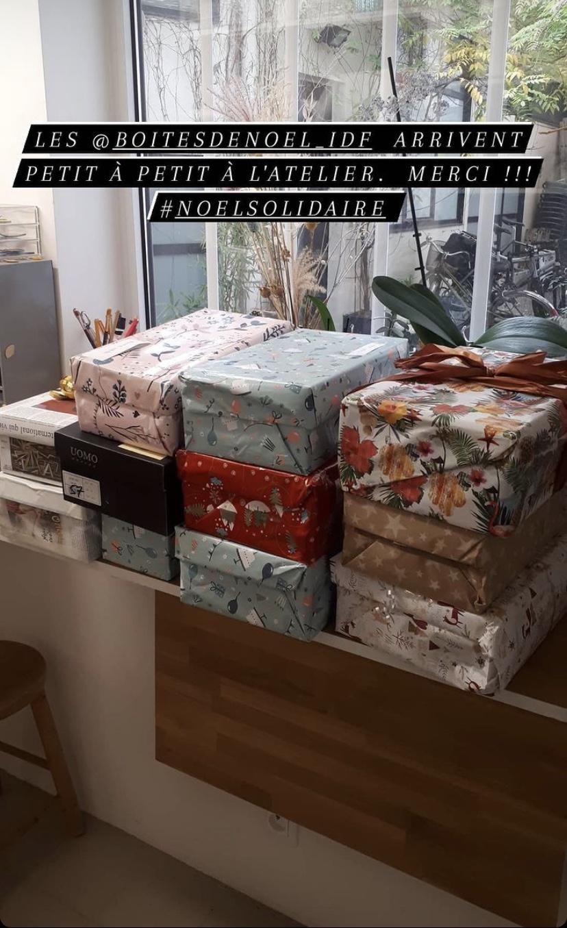 Boîtes de Noël solidaires : des petits cadeaux à destination des plus démunis