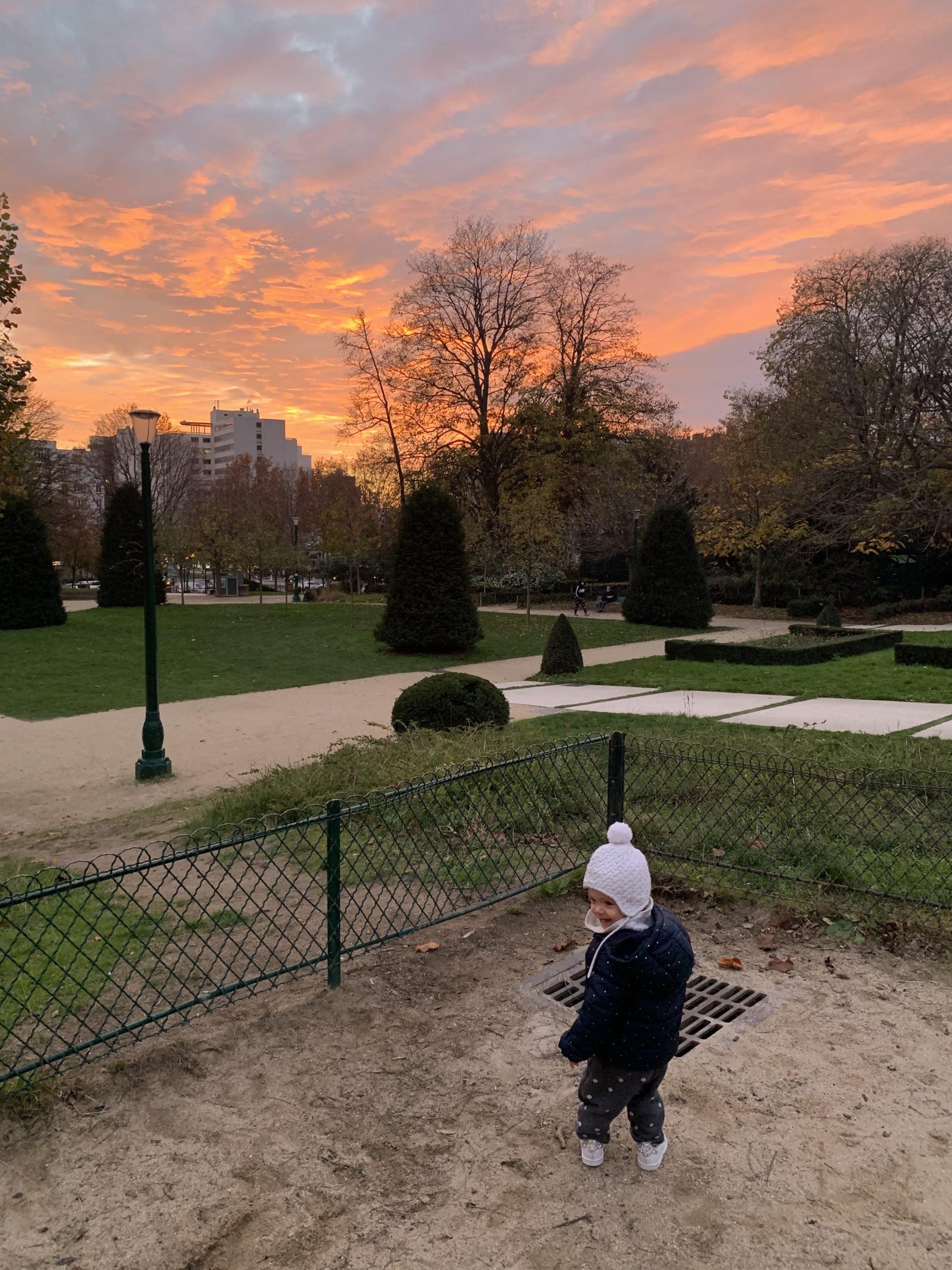 Le square Séverine (Porte de Bagnolet) : plus sympa qu'il n'y paraît