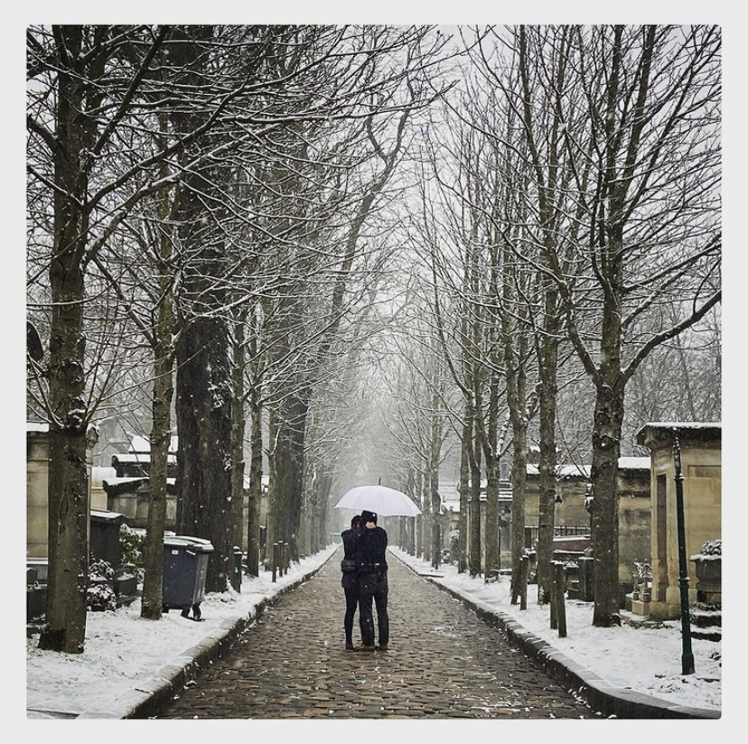 Winter is coming : le 20e arrondissement de Paris sous la neige