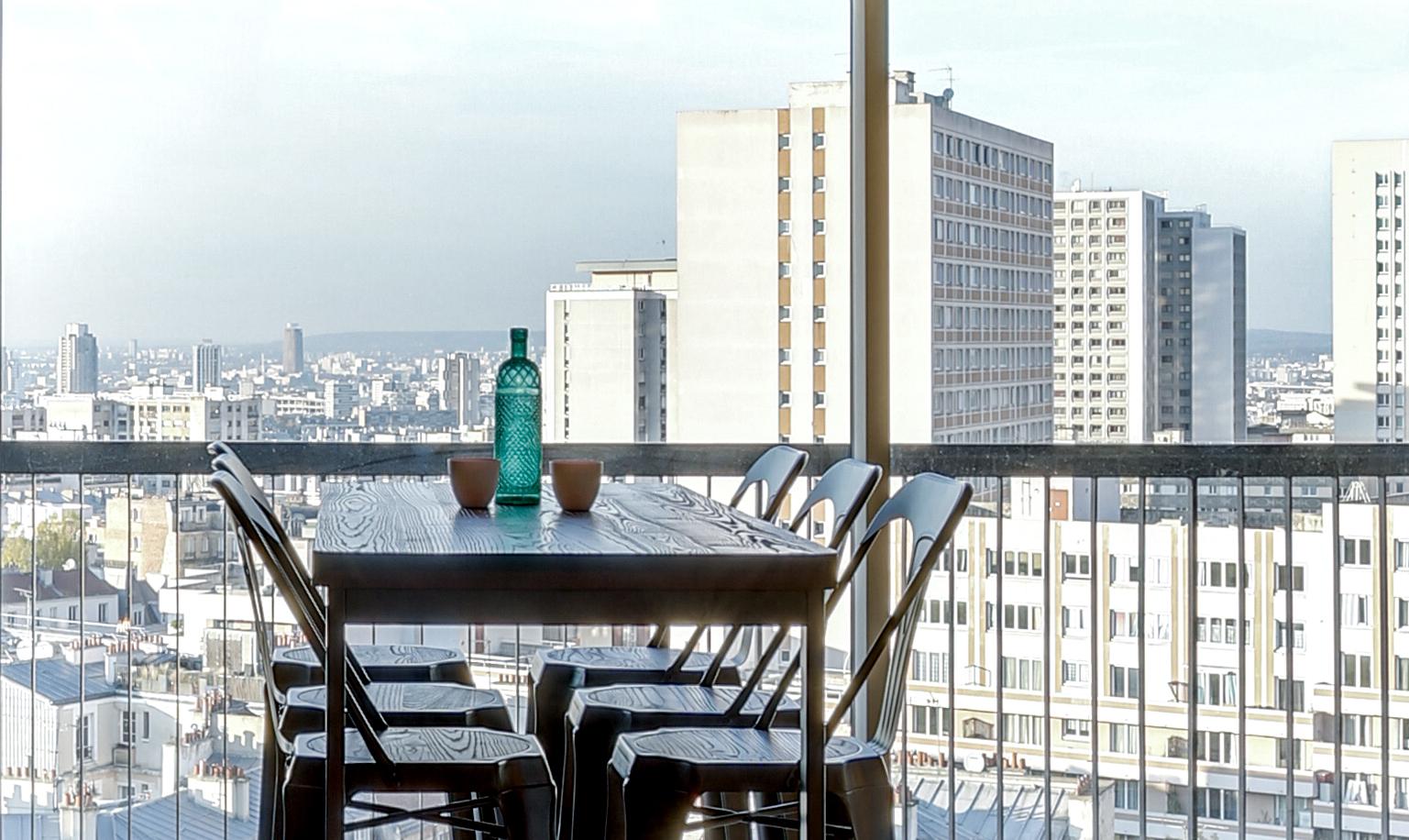 Fenêtre sur tours : l'incroyable vue de cet appartement de Belleville