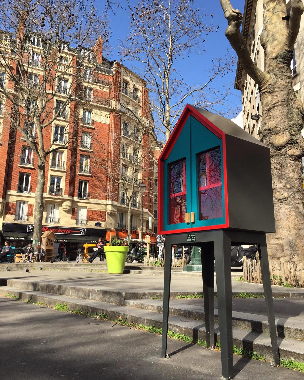 Livres en boîtes : où donner/récupérer des livres dans le 20e arrondissement ?