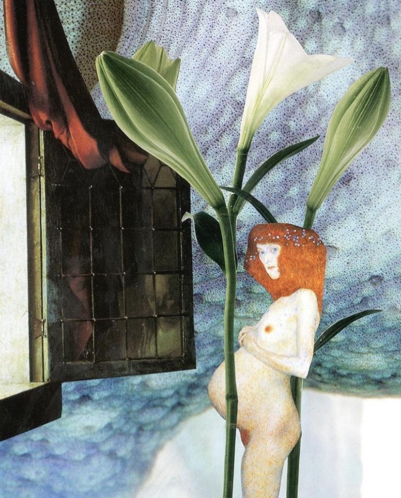 Surréalisme au féminin : les collages du dimanche de Pascaline Marange