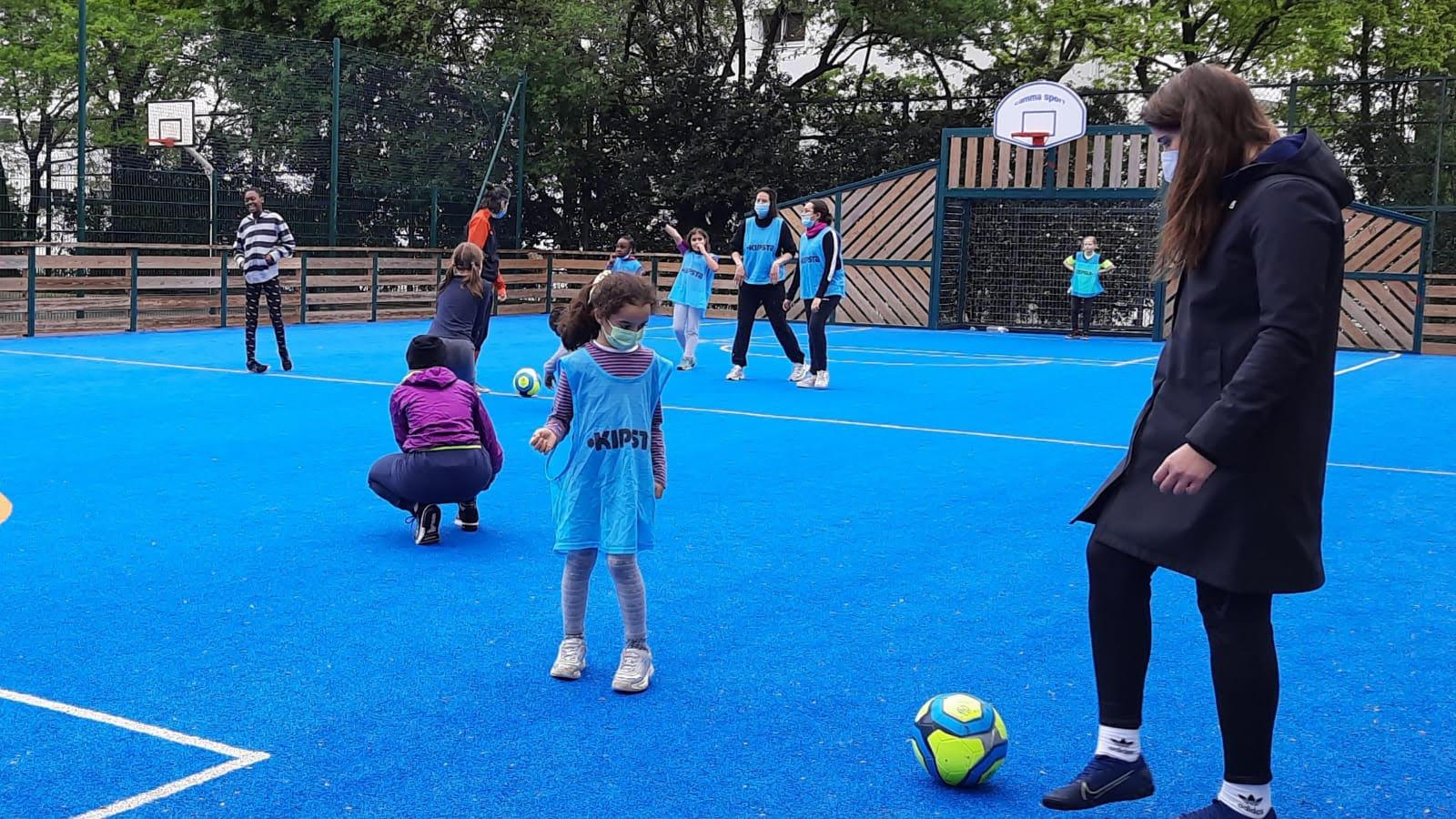 Foot : les filles à l'assaut des terrains avec le PanamBoyz & Girlz United
