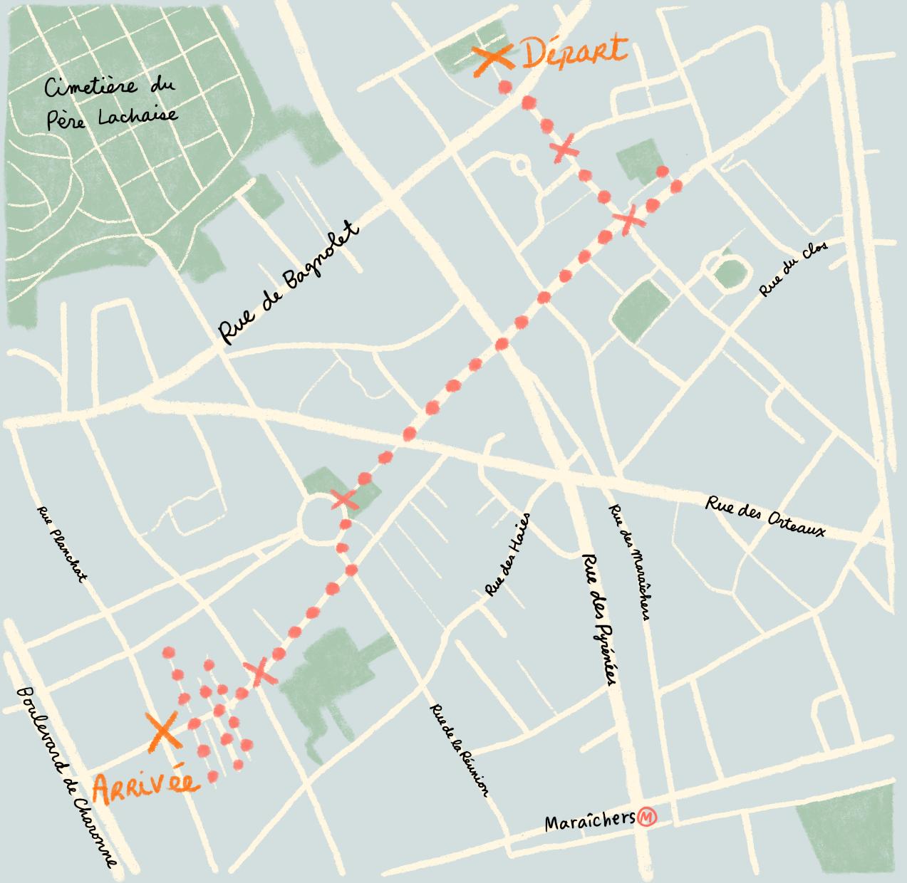 Deux idées balades : l'une à Saint-Blaise, l'autre sur les traces de la Commune