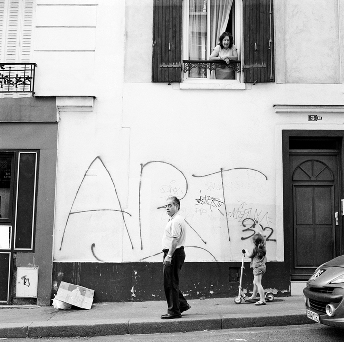 Street photographie : la rue Orfila immortalisée par Pierre Bonard