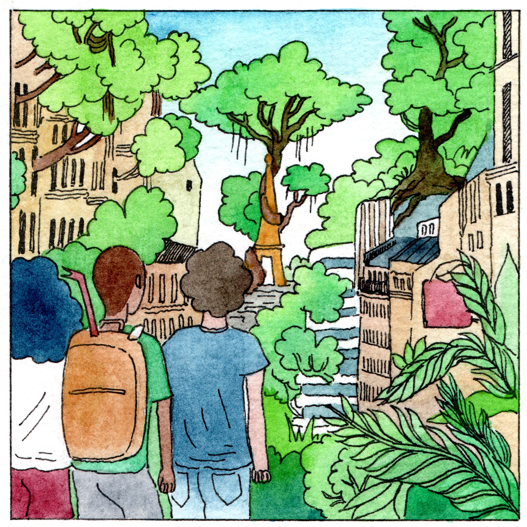 Le voyage d'Akeane : une bande dessinée participative née dans le 20e