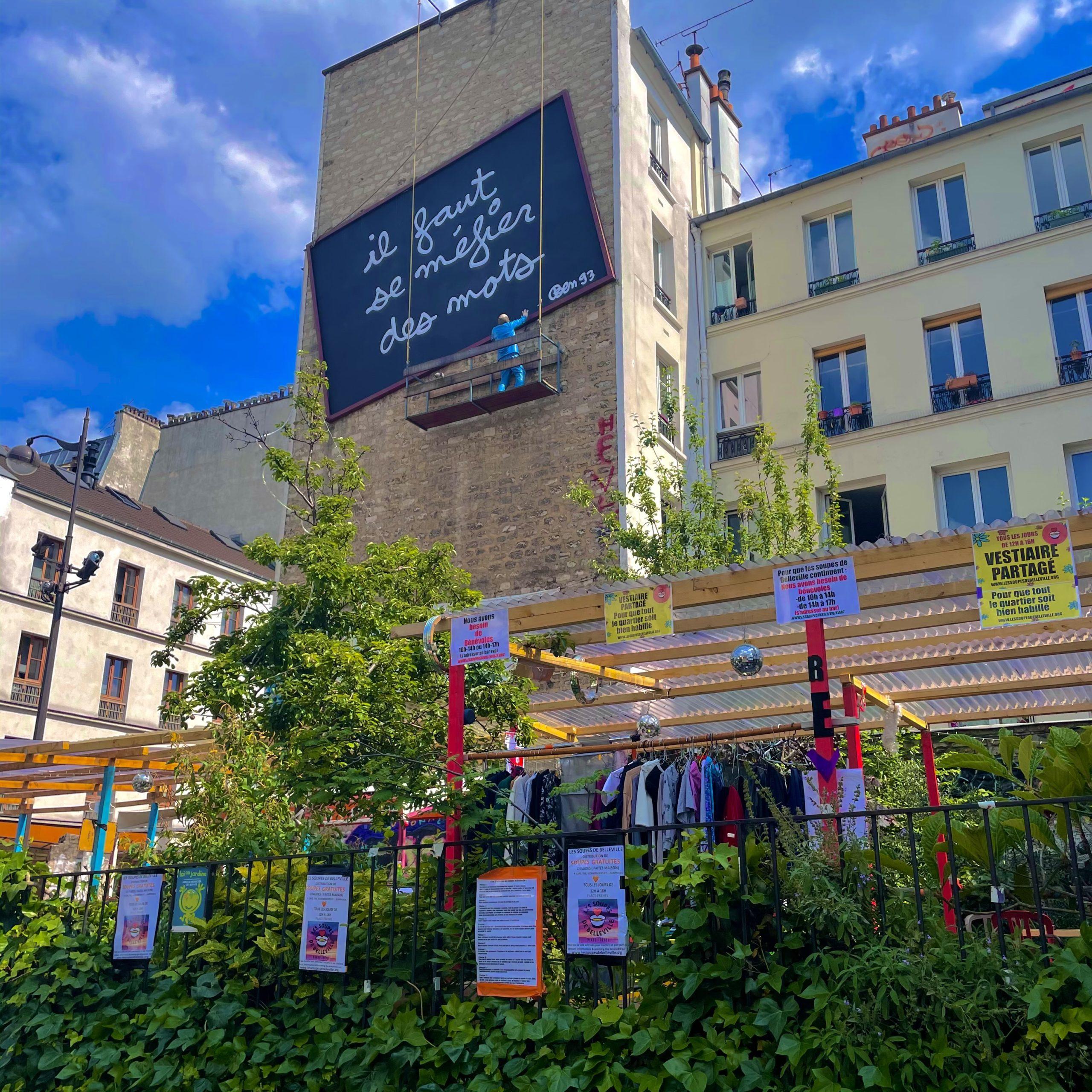 """""""Les soupes de Belleville"""" : 200 repas offerts chaque jour place Fréhel"""