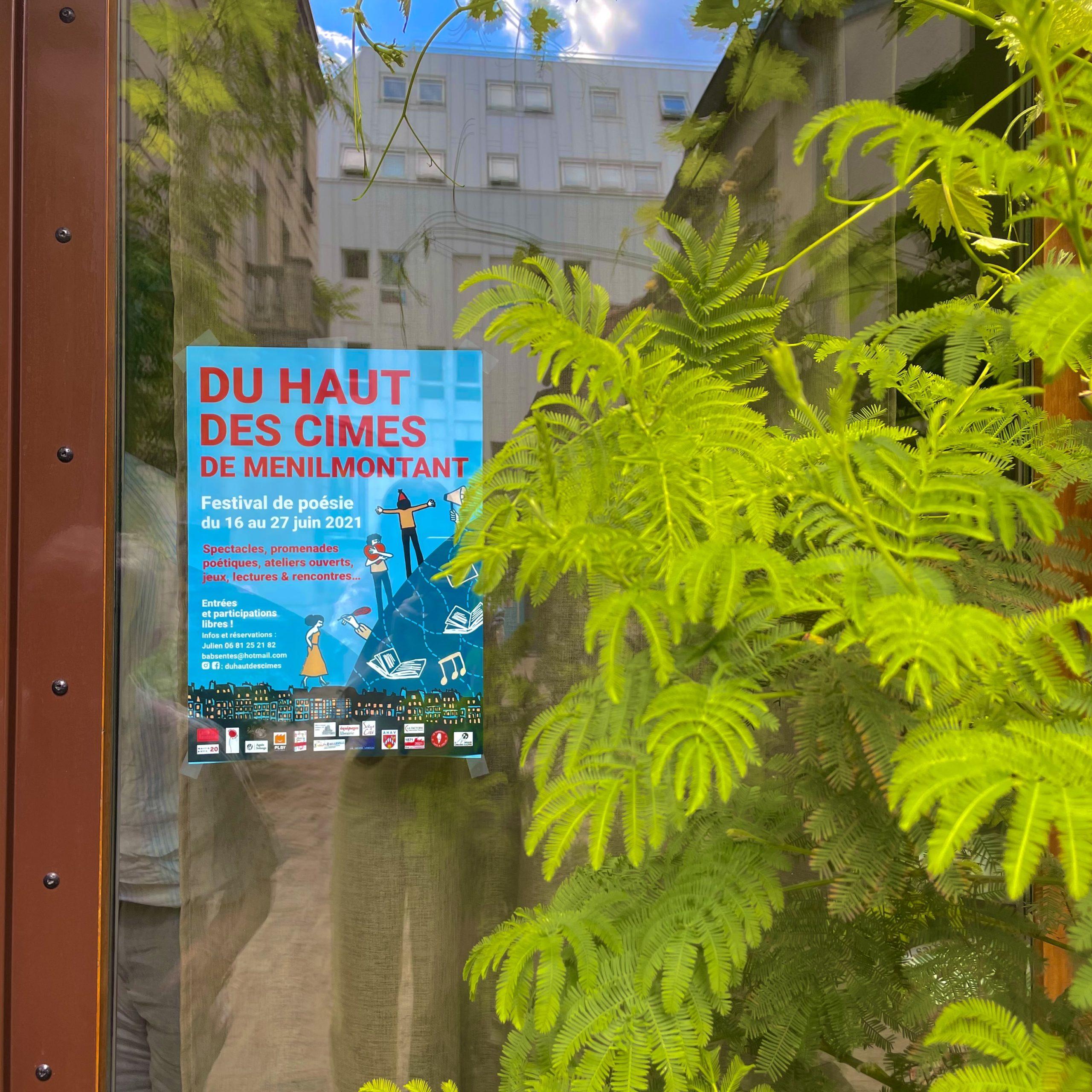 """Ménilmontant : s'initier à la poésie avec le festival """"Du Haut des Cimes"""""""