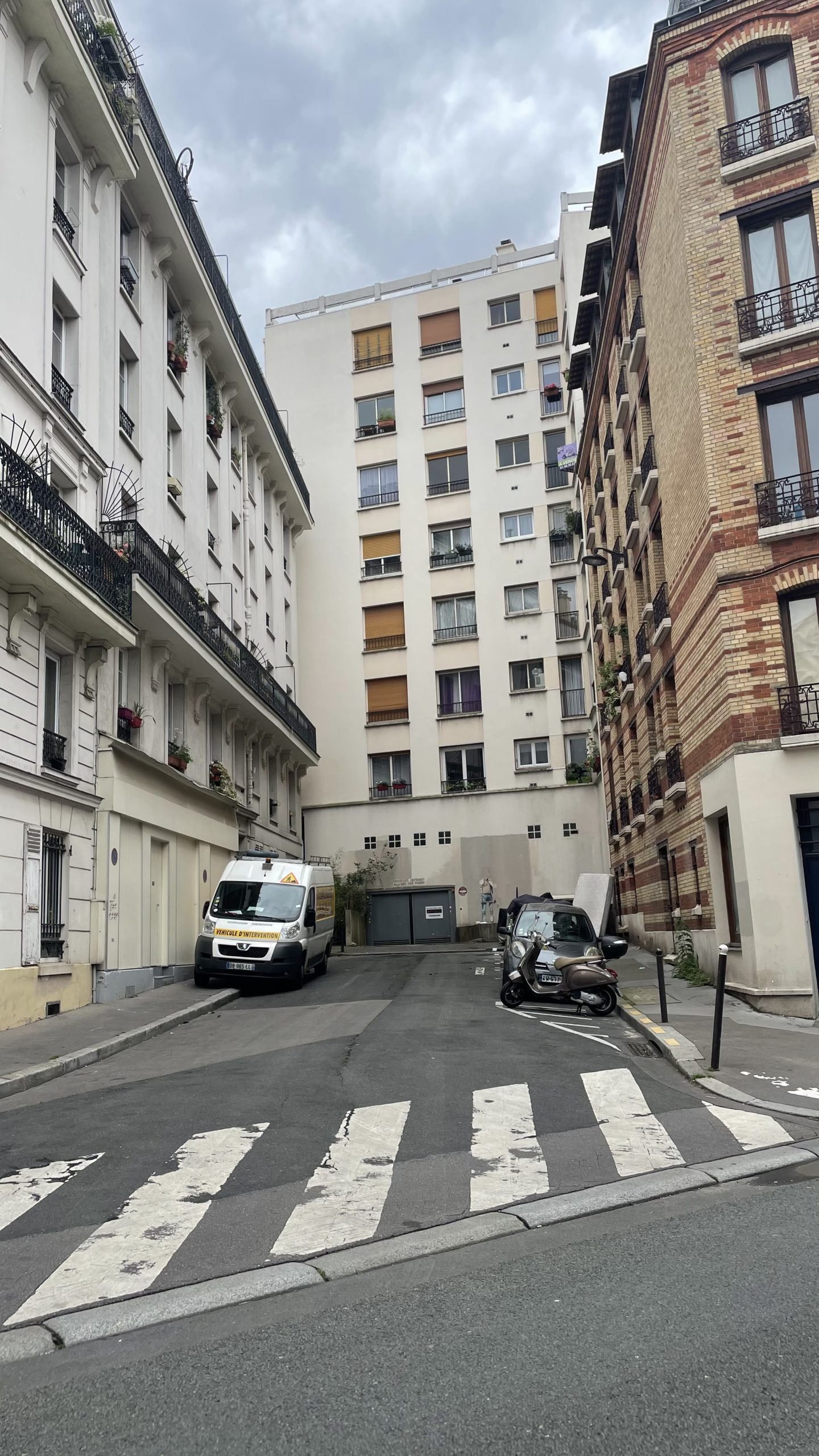 Insolite : à Ménilmontant, la rue de l'Avenir est… une impasse !
