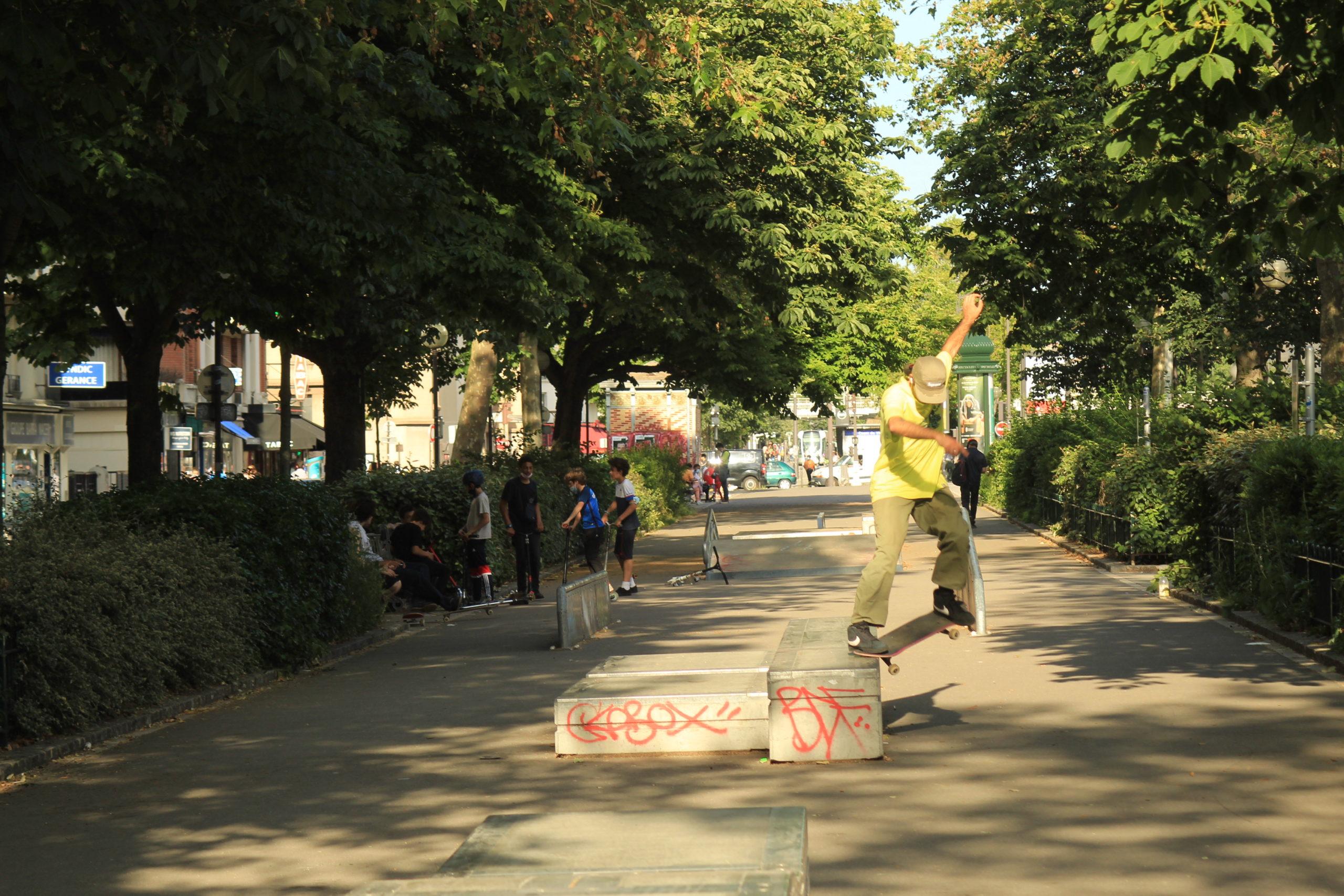 Go Skateboarding Day : 3 spots où pratiquer le skate dans le 20e