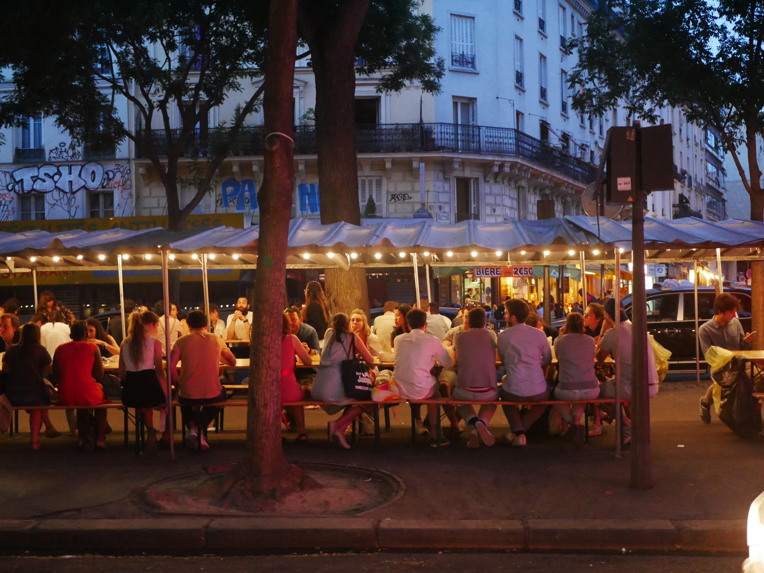 Le 1er événement street food de Paris reprend boulevard de Belleville