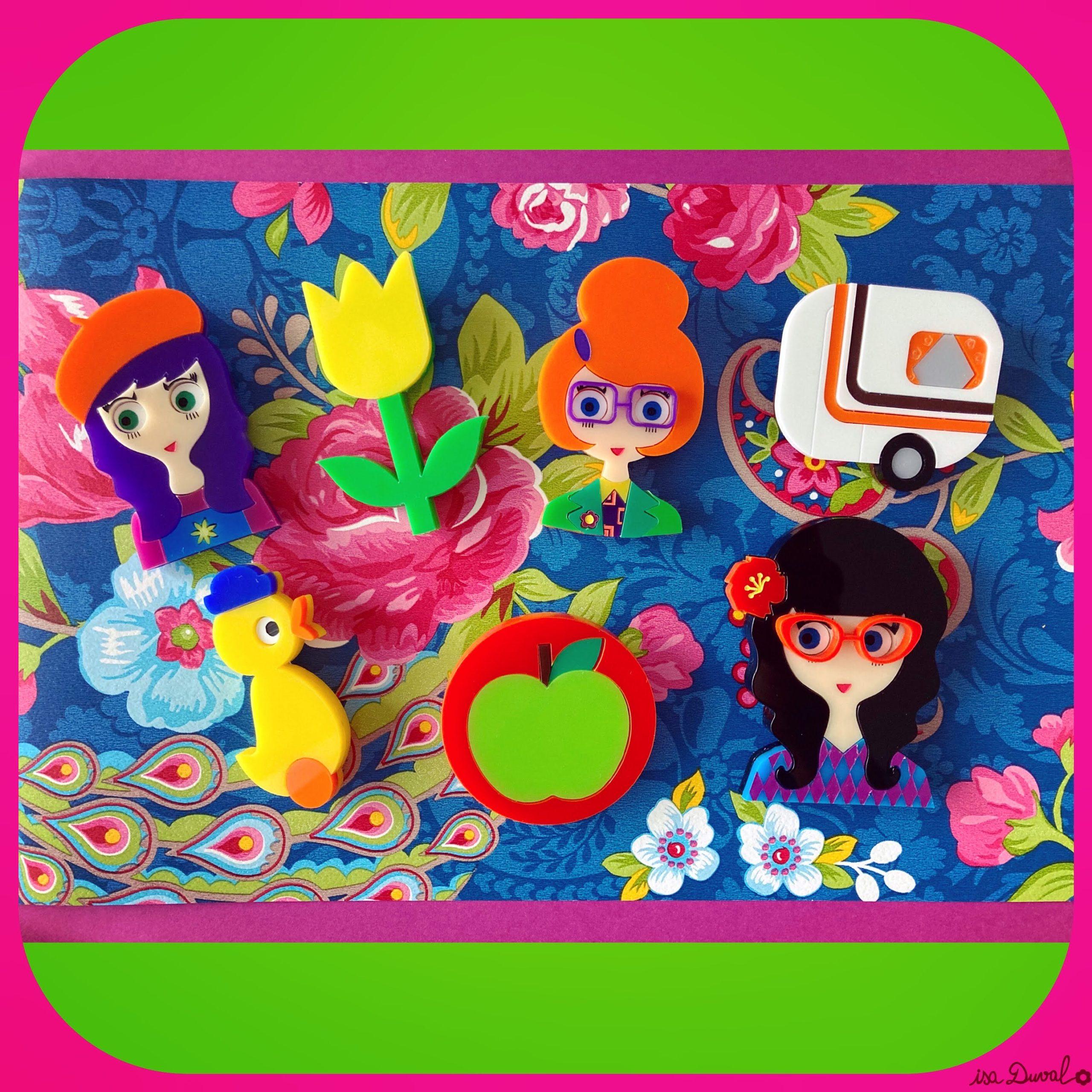 Une broche qui vous ressemble : les créations rétro et colorées d'Isa Duval