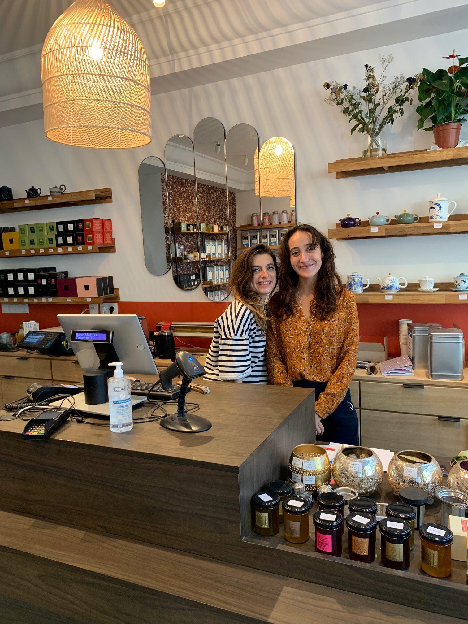 Happy Blue Tea : la nouvelle boutique de thé du quartier Gambetta