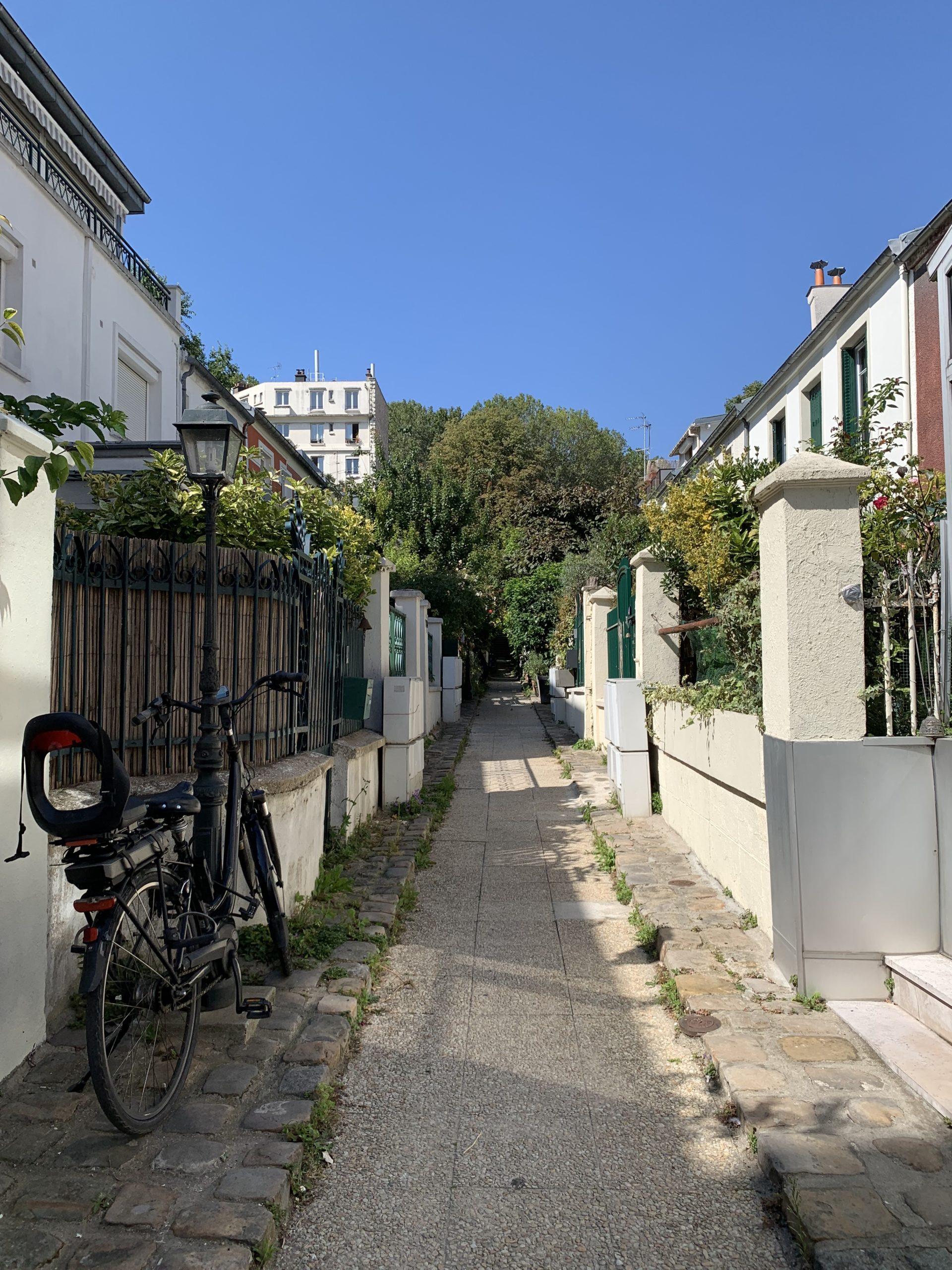 Villa Godin : une impasse champêtre, entre le Père Lachaise et la rue de Bagnolet