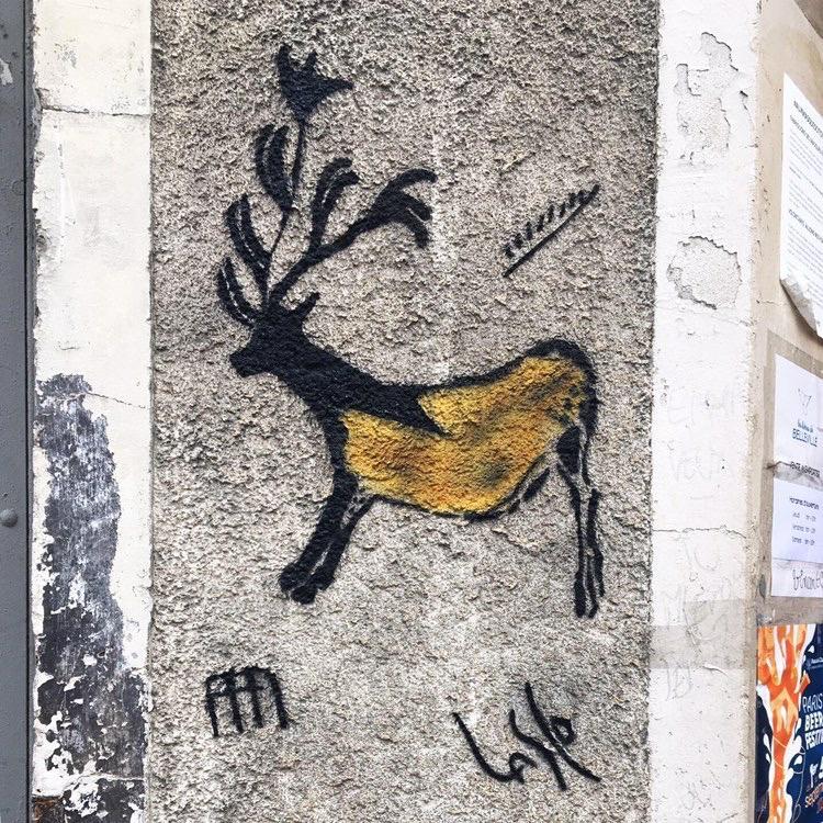 Street art préhistorique : Lasco vulgarise l'art pariétal dans le 20e